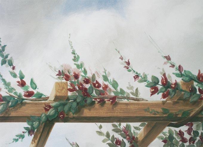 26-Arenzano-casa-privata-particolare-trompe-l-oeil-con-pergolato-con-piante-rampicanti-3