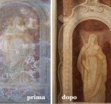 36 - Restauro murale e lapideo Genova - Mara Beccaris