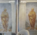 37 - Restauro murale e lapideo Genova - Mara Beccaris