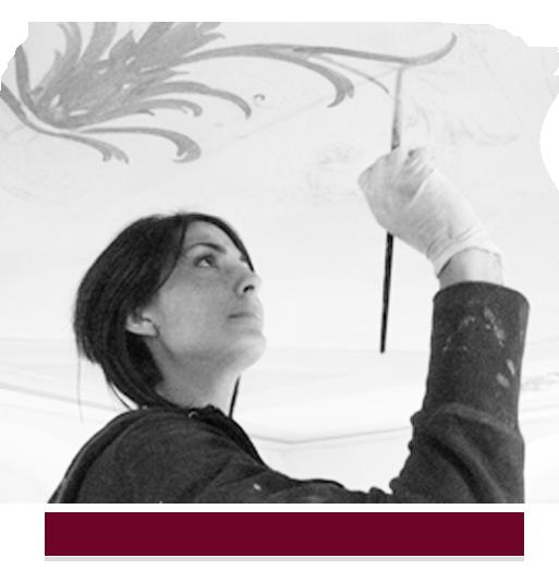 Mara Beccaris - Decorazione dipinta Genova