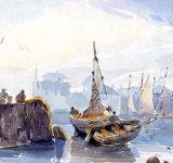 1 - Dipinti ad Olio ed acquerello - Mara Beccaris Genova