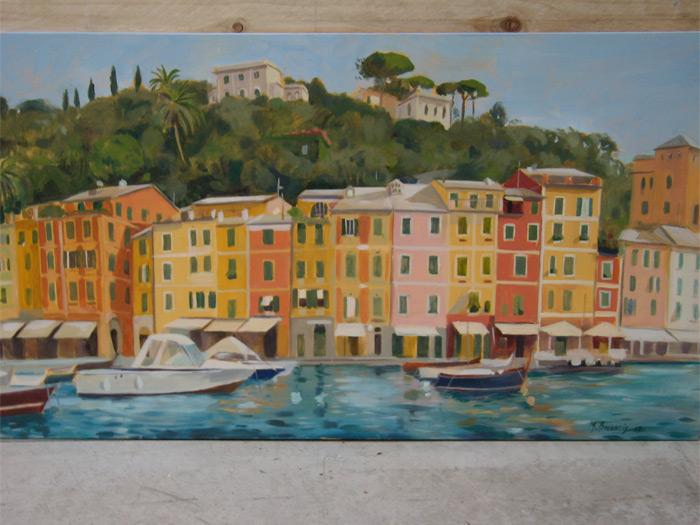 Dipinti ad olio home design e ispirazione mobili for Paesaggi marini dipinti