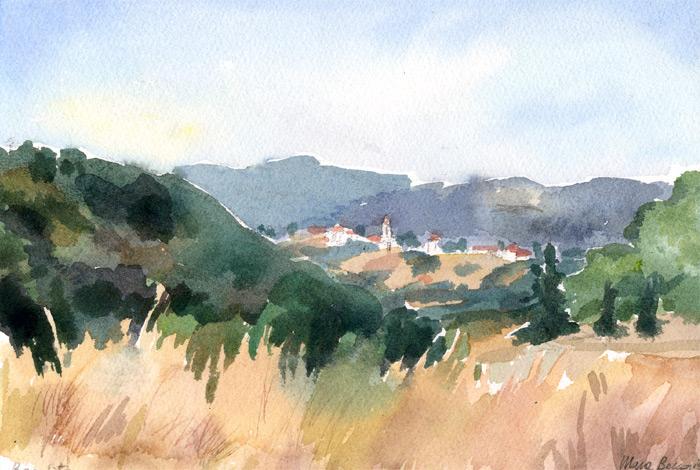 Mara Beccaris | Dipinti ad olio e acquerello