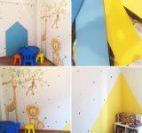 Decorazione dipinta per cameretta bimbi | Mara Beccaris Genova