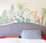 Progettazione e realizzazione composizione decorativa tropicale | Mara Beccaris Genova